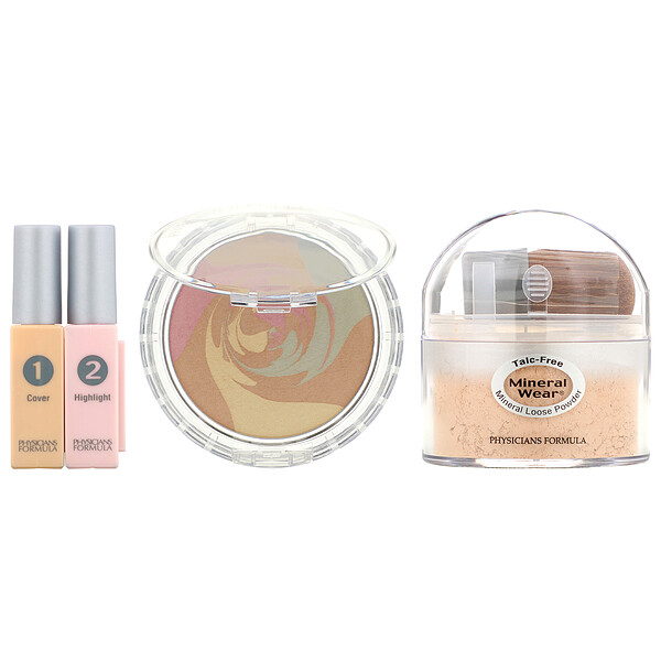 Physicians Formula, Mineral Wear, Correcting Kit, Medium (Discontinued Item)