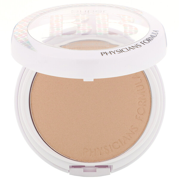 Physicians Formula, Super BB, All-in-1 Beauty Balm Powder, SPF 30, Light/Medium, 0.29 oz (8.3 g) (Discontinued Item)