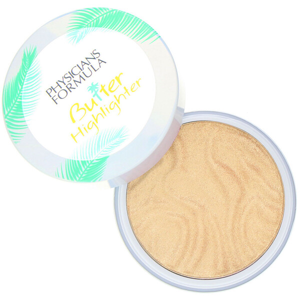 Butter Highlighter, Cream to Powder Highlighter, Champagne, 0.17 oz (5 g)