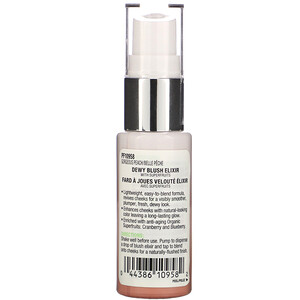 Physicians Formula, Organic Wear, Dewy Blush Elixir, Gorgeous Peach, 0.5 fl oz (15 ml)'