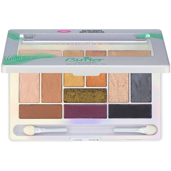 Physicians Formula, Butter Eyeshadow Palette, Sultry Nights, 0.55 oz (15.6 g) (Discontinued Item)