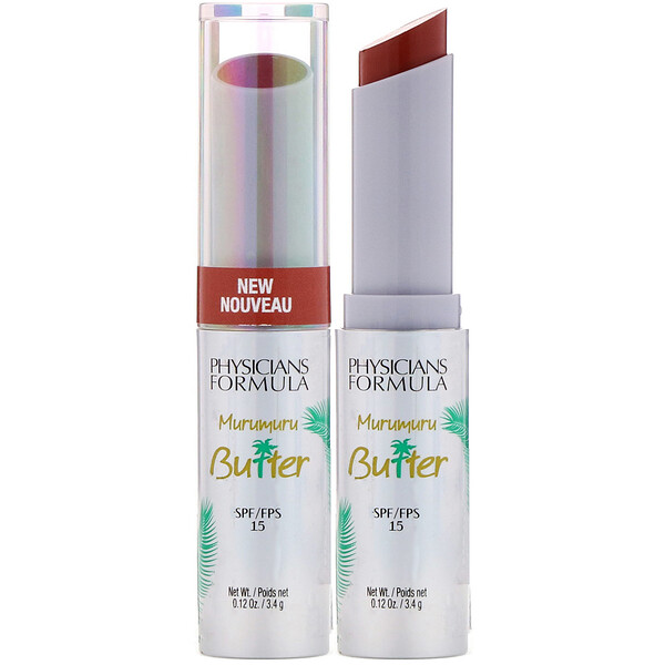 Physicians Formula, Murumuru Butter Lip Cream, SPF 15, Brazilian Nut, 0.12 oz (3.4 g)