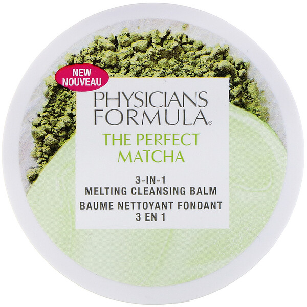 Physicians Formula, The Perfect Matcha‏, קרם ניקוי ממיס, 3 ב-1, 40 גרם