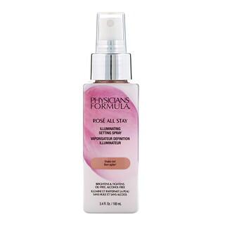 Physicians Formula, Rose All Stay, Illuminating Setting Spray, 3.4 fl oz (100 ml)