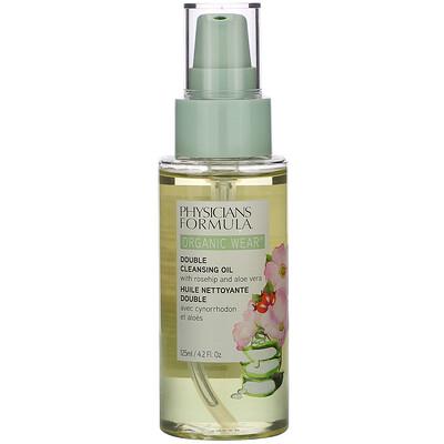 Купить Physicians Formula Organic Wear, Double Cleansing Oil, 4.2 fl oz (125 ml)