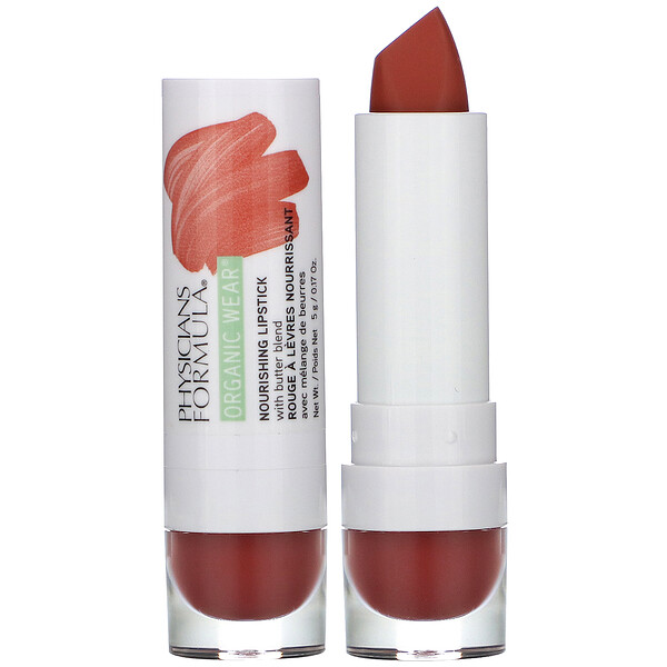 Organic Wear, Nourishing Lipstick, Buttercup, 0.17 oz (5 g)