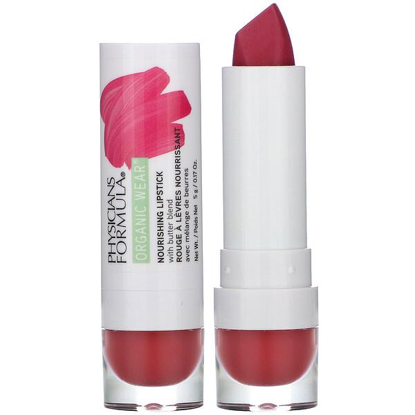 Organic Wear, Nourishing Lipstick, Desert Rose, 0.17 oz (5 g)