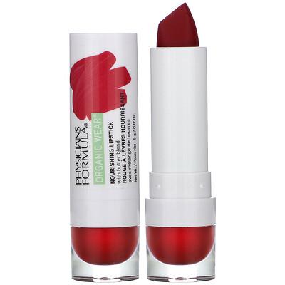 Купить Physicians Formula Organic Wear, Nourishing Lipstick, Goji Berry, 0.17 oz (5 g)