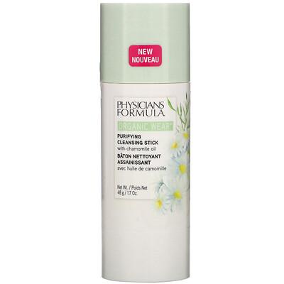 Купить Physicians Formula Organic Wear, Purifying Cleansing Stick, 1.7 oz (48 g)