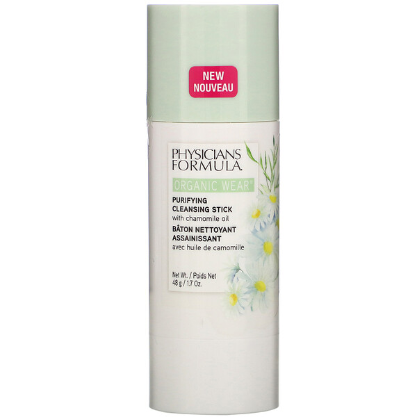 Physicians Formula, Organic Wear, Purifying Cleansing Stick, 1.7 oz (48 g)