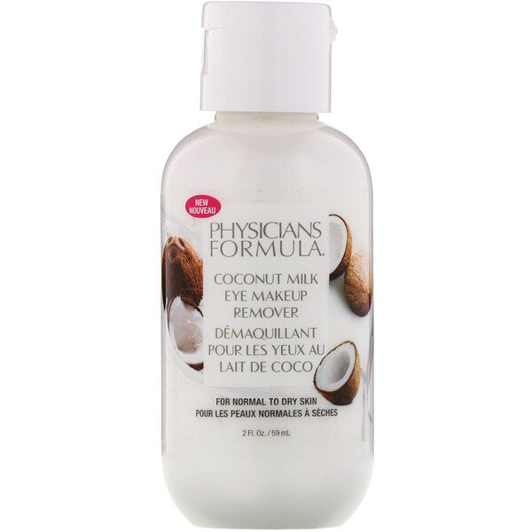 Physicians Formula, Coconut Milk Eye Makeup Remover, 2 fl oz (59 ml)