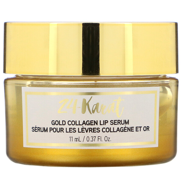 24-Karat Gold Collagen Lip Serum, 0.37 fl oz (11 ml)