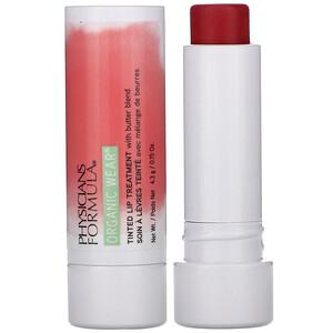 Физишэнс Формула Инк, Organic Wear, Tinted Lip Treatment, Love Bite, 0.15 oz (4.3 g) отзывы покупателей