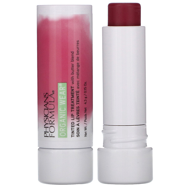 Organic Wear, Tinted Lip Treatment, Berry Me, 0.15 oz (4.3 g)