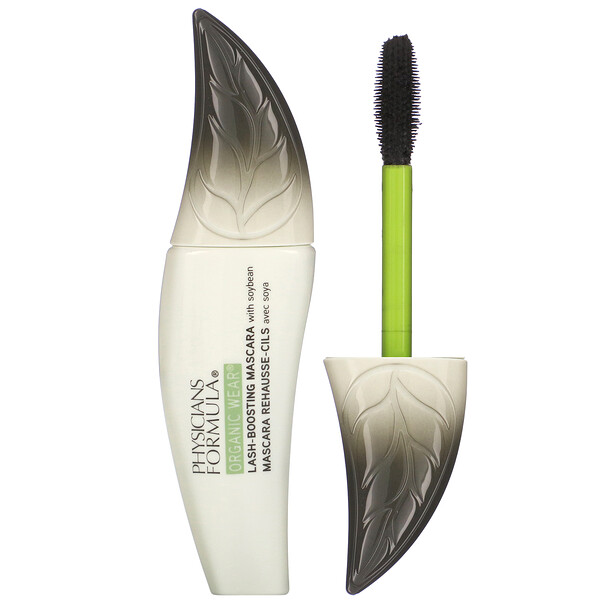 Physicians Formula, Organic Wear, Lash-Boosting Mascara, Black, 0.26 oz (7.5 g)