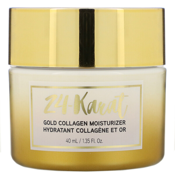24-Karat Gold Collagen Moisturizer, 1.35 fl oz (40 ml)