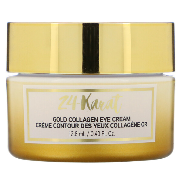 24-Karat Gold Collagen Eye Cream, 0.43 fl oz (12.8 ml)