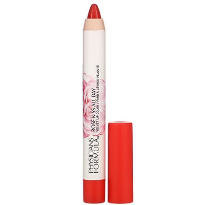 Physicians Formula Rose Kiss All Day, Glossy Lip Color, Hot Lips, 0.15 oz (4.3 g)