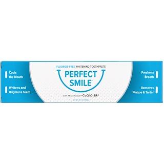 Perfect Smile, Fluoride-Free Whitening Toothpaste With CoQ10-SR, 4.2 oz (119 g)