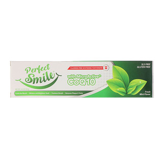Perfect Smile, Fluoride-Free Whitening Toothpaste With MicroActive CoQ10, Fresh Mint , 4.2 oz (119 g)