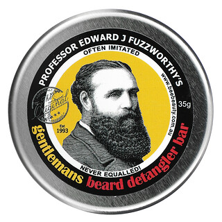 Professor Fuzzworthy's, Gentlemans Beard Detangler Bar, 35 g