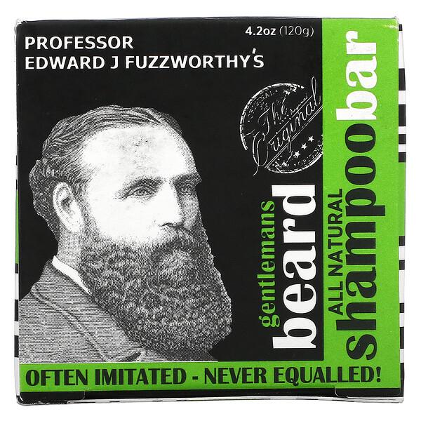 Professor Fuzzworthy's, Gentlemans Beard Shampoo Bar with Apple Cider Vinegar , 4.2 oz (120 g)