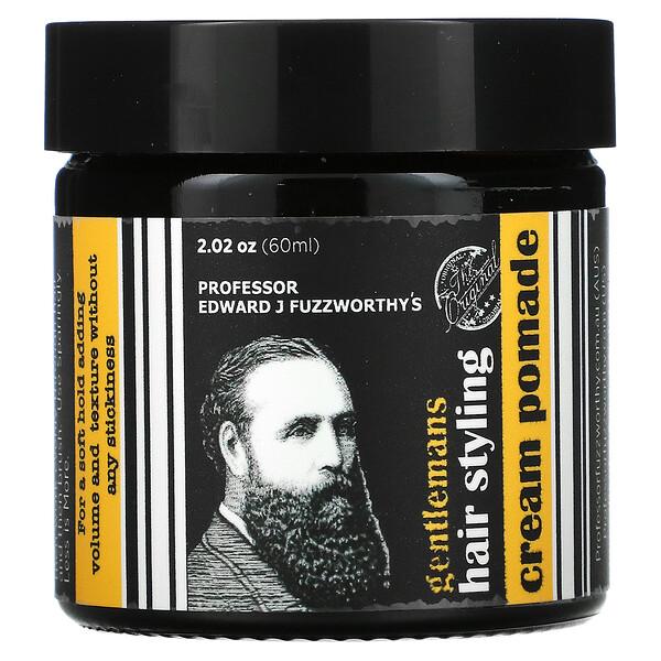 Gentlemans Hair Styling Cream Pomade, 2.02 oz (60 ml)
