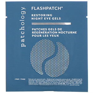 Patchology, FlashPatch Restoring Night Eye Gels, 5 Pairs отзывы
