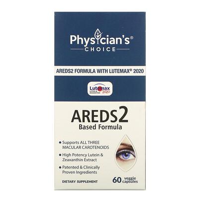 Купить Physician's Choice Eye Health, Areds2 Formula, 60 Vegetarian Capsules