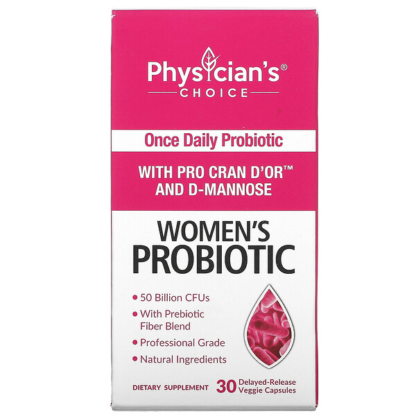 Women's Probiotic 50 Billion, 30 Vegetarian Capsules