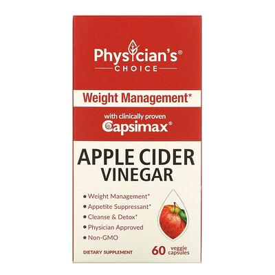 Купить Physician's Choice Apple Cider Vinegar Capsules, 60 Vegetarian Capsules