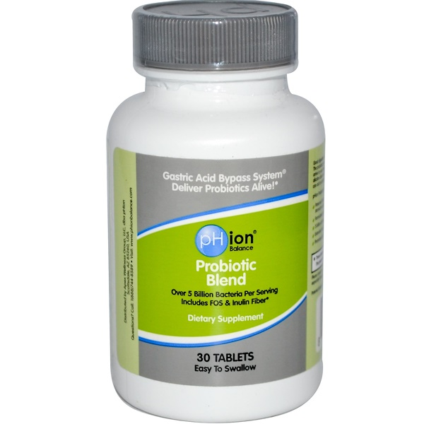 pHion Balance, Probiotic Blend, 30 Tablets (Discontinued Item)