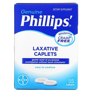 Phillip's, Laxative Caplets, 55 Caplets