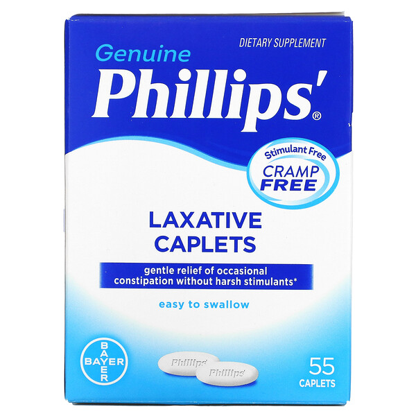 Laxative Caplets, 55 Caplets