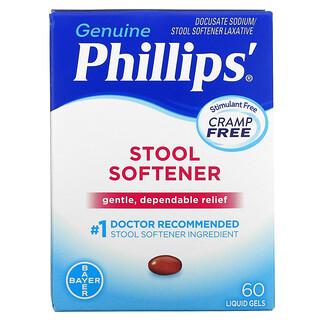 Phillip's, Stool Softener, 60 Liquid Gels