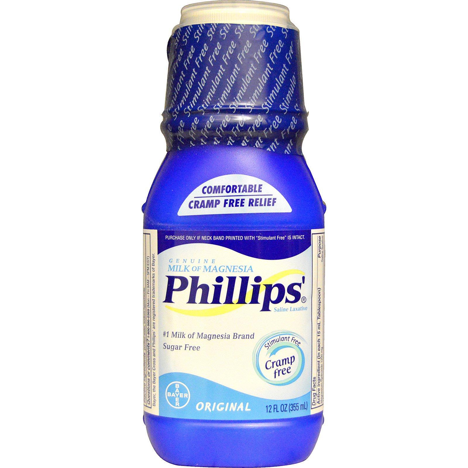 Phillip s Genuine Milk of Magnesia Saline Laxative