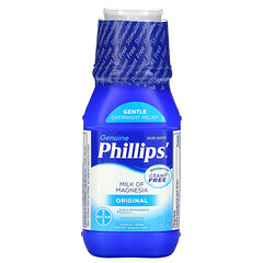 Phillip's, 氧化鎂牛奶,原味,12液體盎司(355毫升)