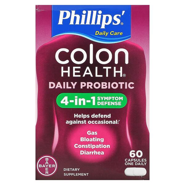 Colon Health Daily Probiotic, 60 Capsules