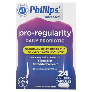 Phillip's, Pro-Regularity Daily Probiotic, 24 Vegetarian Capsules