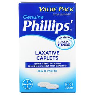 Phillip's, Laxative Caplets, 100 Caplets