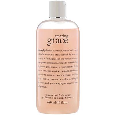 Купить Philosophy Шампунь-гель для душа и ванны Amazing Grace, 480 мл