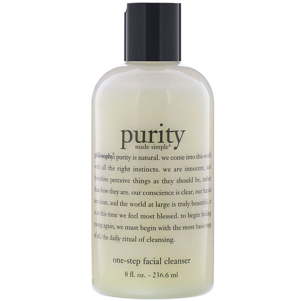 Purity Made Simple, One-Step Facial Cleanser, 8 fl oz (236.6 ml)