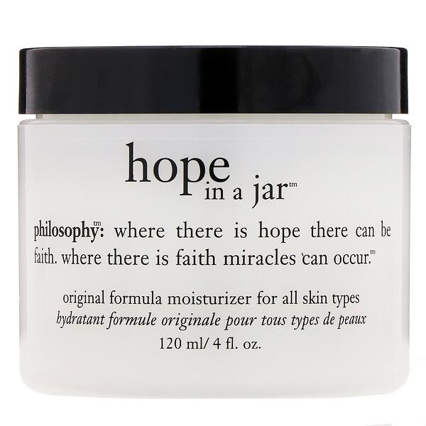 Philosophy, Hope in a Jar, увлажняющее средство с оригинальной формулой, 120мл (Discontinued Item)