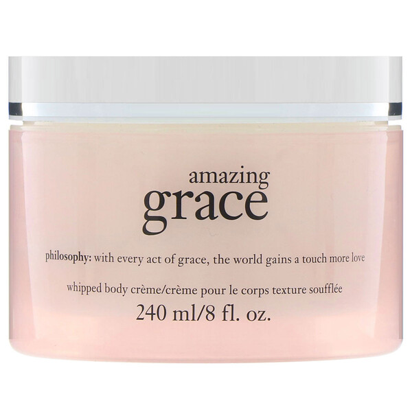 Philosophy, Amazing Grace, creme corporal cremoso, 240 ml (Discontinued Item)