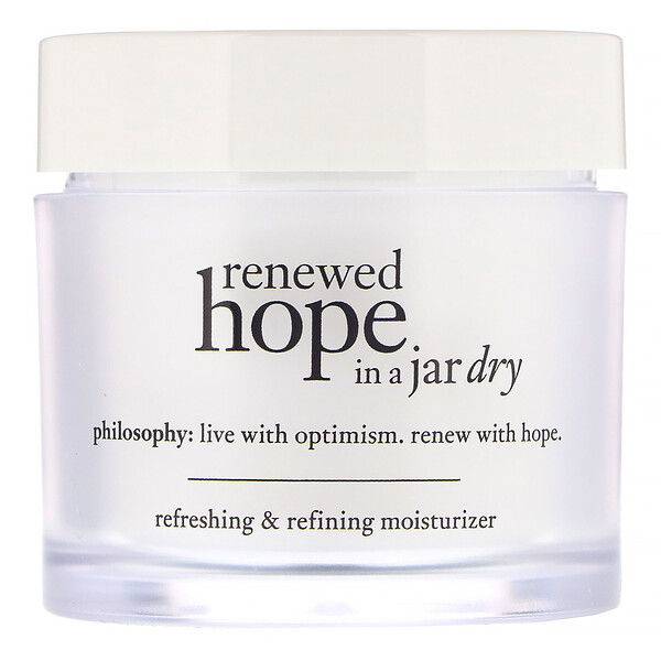 Philosophy, Renewed Hope in a Jar, Dry Refreshing & Refining Moisturizer, 2 fl oz (60 ml)