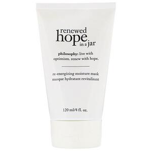 Philosophy, Renewed Hope in a Jar, Re-Energizing Moisture Mask, 4 fl oz (120 ml) отзывы