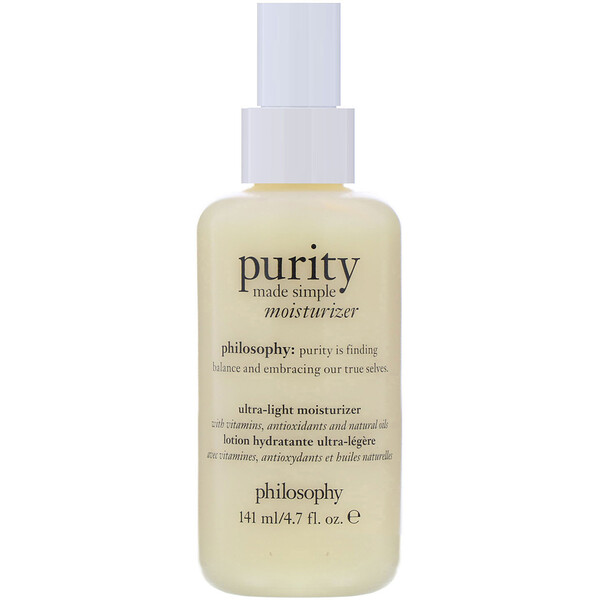 Purity Made Simple, Ultra-Light Moisturizer, 4.7 fl oz (141 ml)