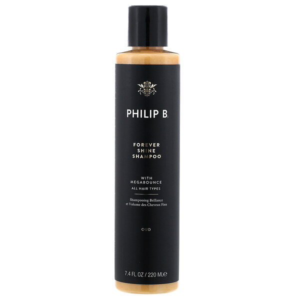 Philip B, Forever Shine Shampoo, Oud, 7.4 fl oz (220 ml) (Discontinued Item)