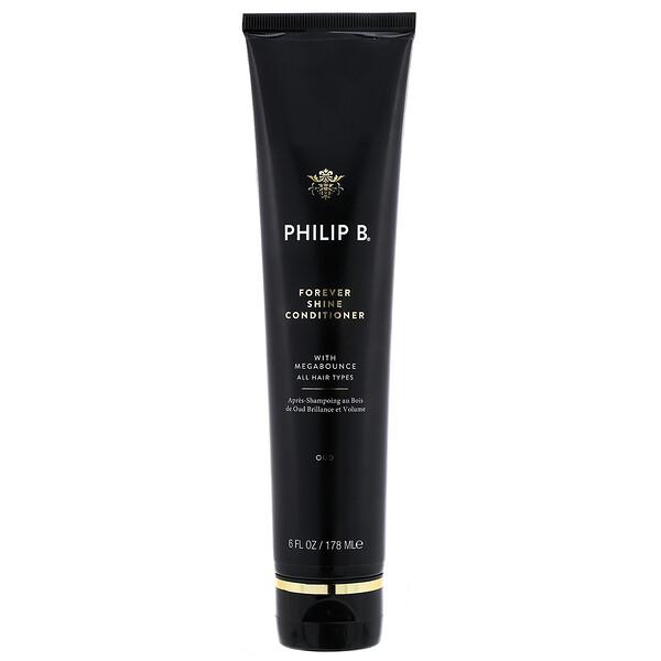 Philip B, Forever Shine Conditioner, Oud, 6 fl oz (178 ml) (Discontinued Item)