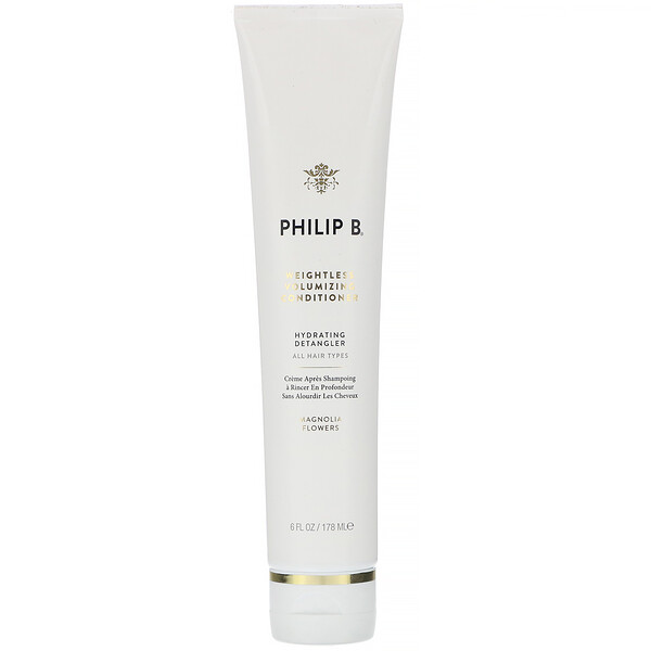 Philip B, Weightless Volumizing Conditioner, Magnolia Flowers,  6 fl oz (178 ml) (Discontinued Item)